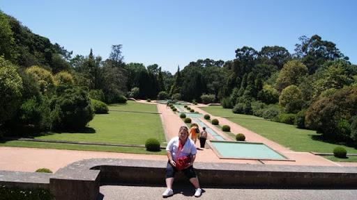 En los jardines de Serralves