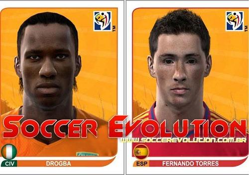 Drogba e Torres