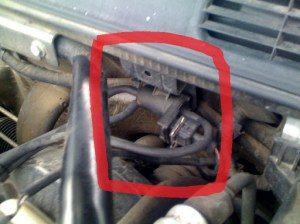 Solenoid (I think) that is on firewall  SaabCentral Forums