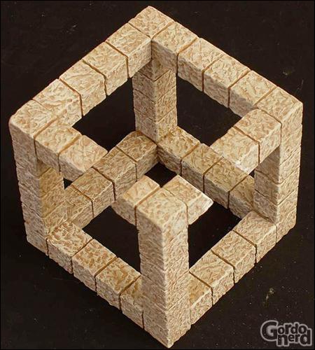 neckercube1 Desvendando o cubo de Necker