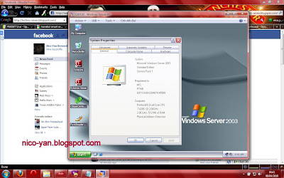 Screenshot Virtual PC di Windows 7