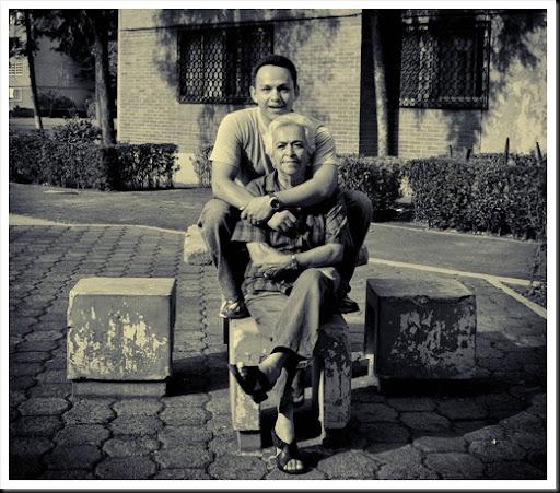 yo y abuela