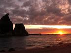 Sunsets in Tanjung Layar