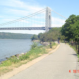 The River bike trail, Manhattan