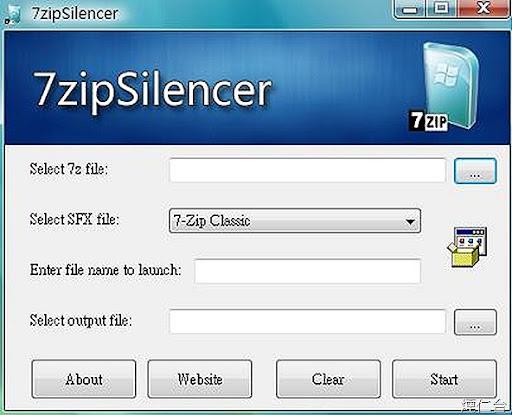 7zipSilencer