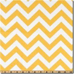 premier prints yellow chevron fabric