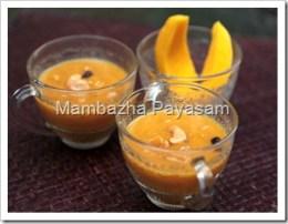 Mambazha Payasam