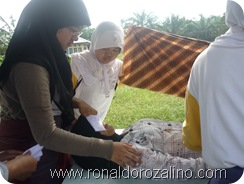 Praktek Fardhu Kifayah Penyelenggaraan Jenazah di SMAN Pintar Kuansing3