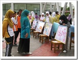 Pameran Karya Seni Rupa III PAKASERU III di SMAN Pintar Kabupaten Kuantan Singingi4