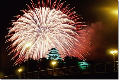 fireworks-displaykaratsu-castlesaga