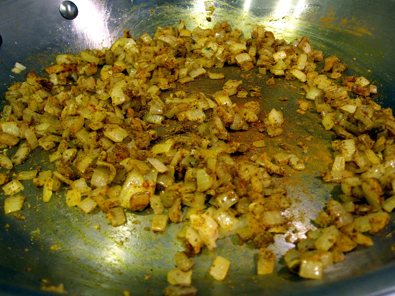 sauteed onions with indian spices
