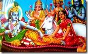 Lord Narayana with associates