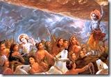 Lifting of Govardhana Hill