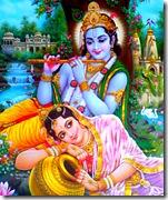 Shrimati Radharani is a perfect devotee