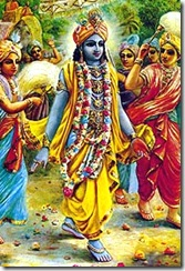 Krishna in Dvaraka