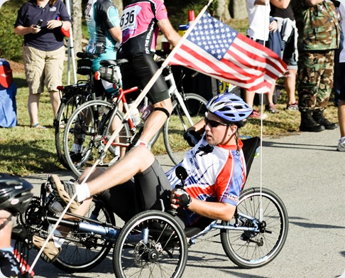 wounded warrior soldier ride