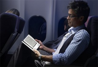 airplane-sony-ebook-reader