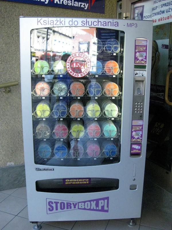 Automat do sprzedaży adiobooków