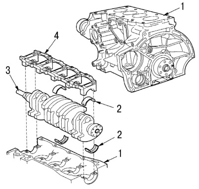 Ford engine diagram :: Ford Focus engine diagram :: Engine