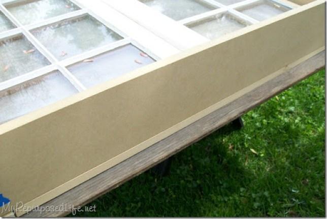 mdf wood makes the window box