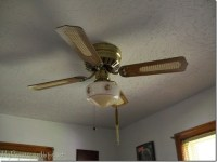 Painting a Ceiling Fan