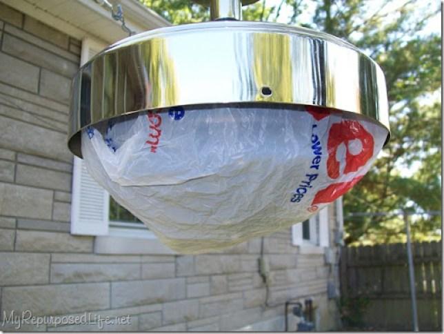 spray paint ceiling fan