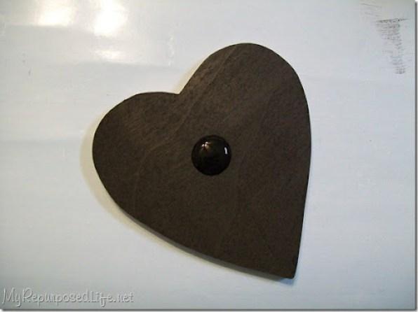wooden chalkboard hearts
