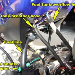 2008 Yamaha R6 Wiring Diagram Mgf Radio Yzf Great Installation Of How To 98 01 R1 Remove Fuel Tank Airbox Carburetors And 2000