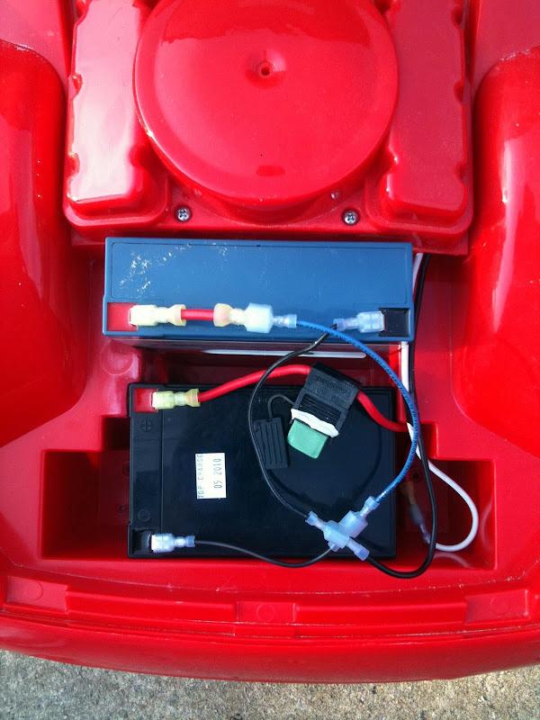power wheels 6v wiring diagram telecaster treble bleed modified - chozian's 12v lightning mcqueen project (1st mod)