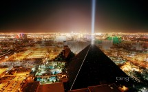 Luxor Las Vegas at Night