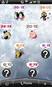 Daily Cartoon011 LWP & Clock screenshot 5
