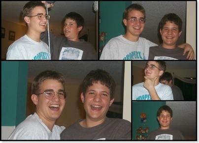 Chris & Adam 2000