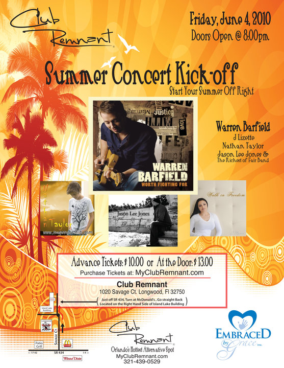Summer Concert Kick-Off