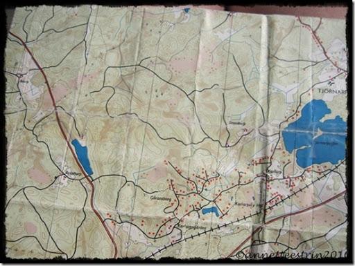 kort over Karlarp