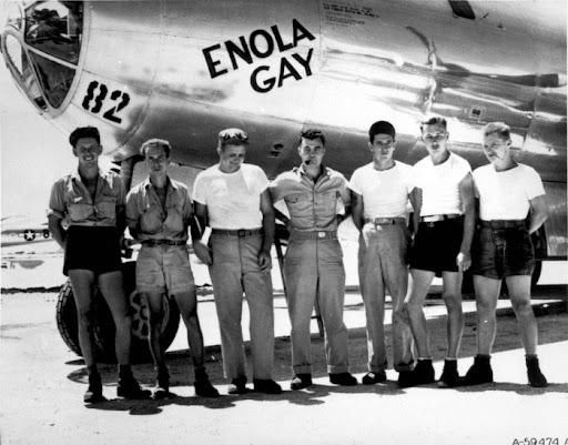 WWII ENOLA GAY CREW