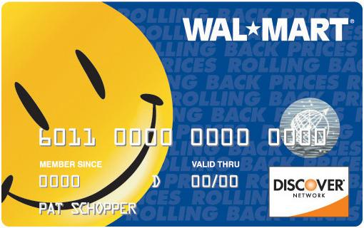 Walmart Discover Card