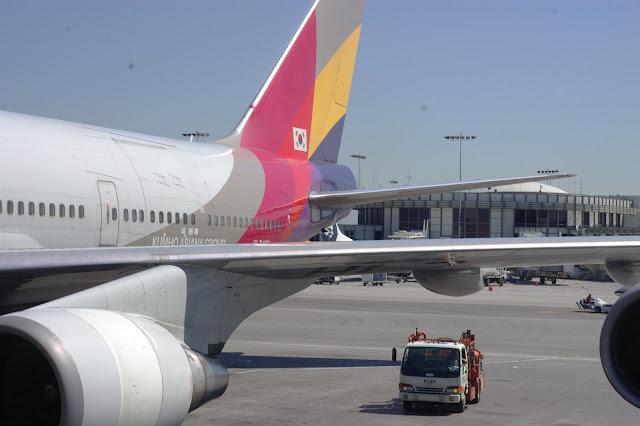 Asiana Airlines Boeine 747