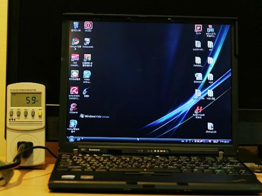 筆電超省電?我的 Thinkpad X61耗電量實測!!   計算0123456789