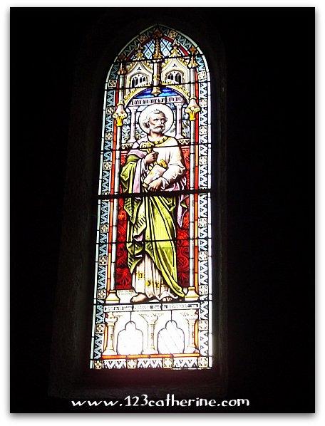 Vitrail de l'Eglise Saint-Pierre