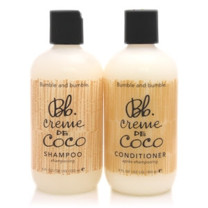 Bumble and Bumble's Creme de Coco Shampoo and Conditioner