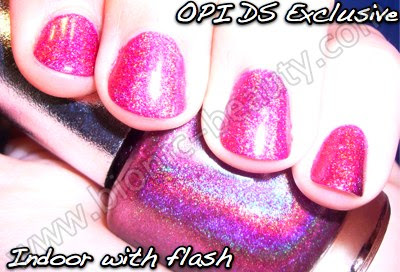 OPI Designer Series DS nail polish in Exclusive
