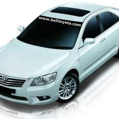 All New Camry Harga Spesifikasi Alphard Martopad Toyota 2010 2011