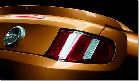 Ford Mustang 2010 traseira