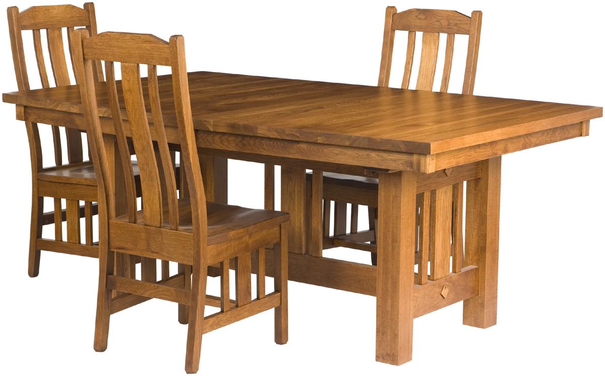 Mission Dining Room Table Erik Organic