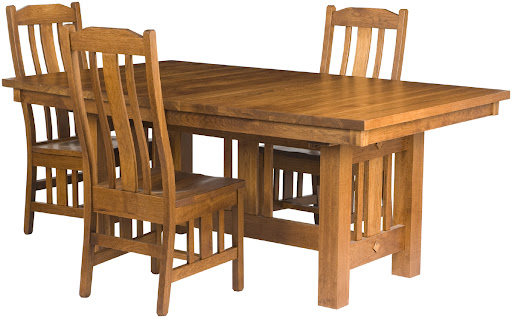 Craftsman Style Table And Chairs