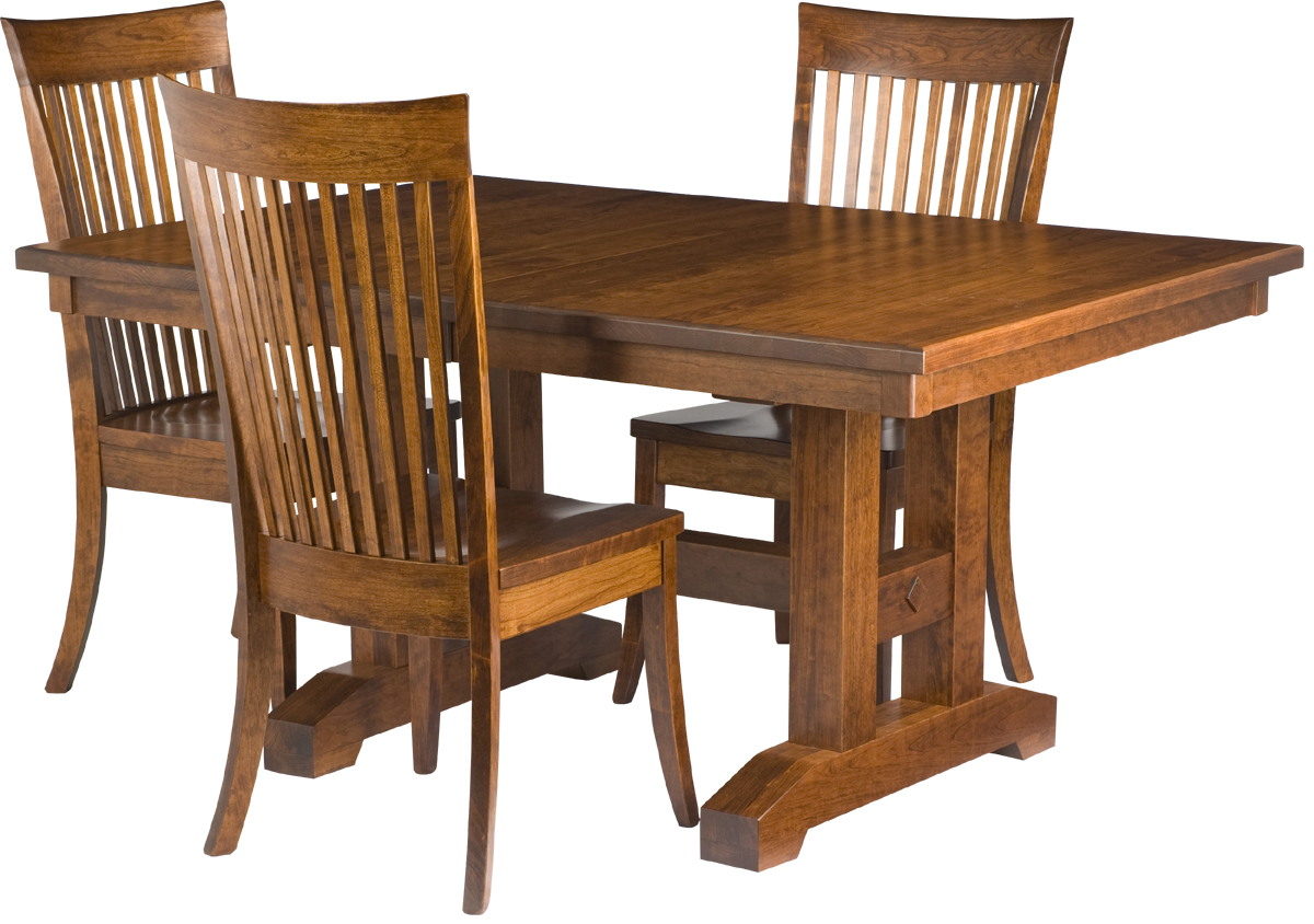Dining Room Table With Chairs Trestle Dining Room Table Erik Organic