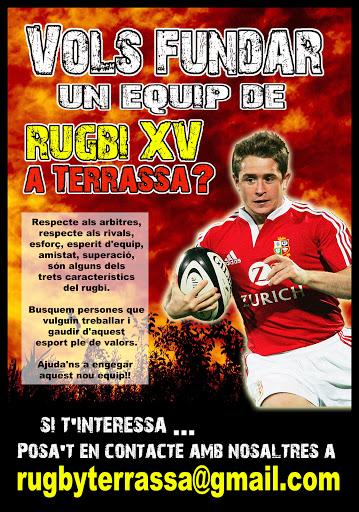 Cartell Rugby Terrassa