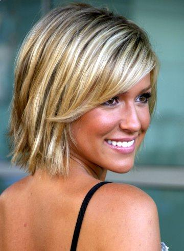 Here is a picture of Kristin Cavallari short bob hairstyle, this is the most