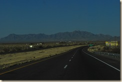 AZ mountains in distance