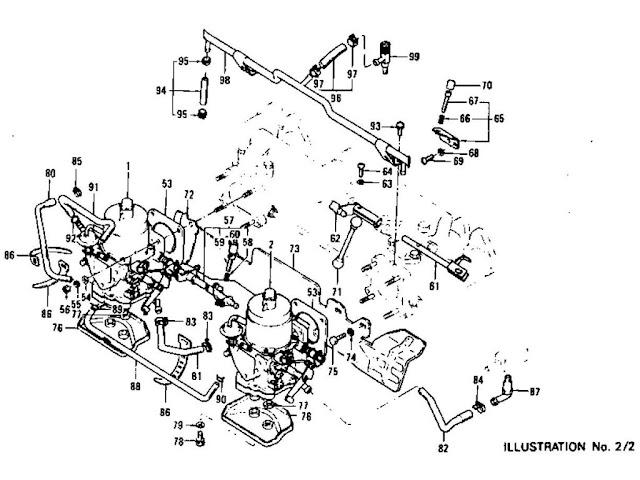 Datsun 260Z Carburetor L26 (From Aug.-'73 To Nov.-'74)